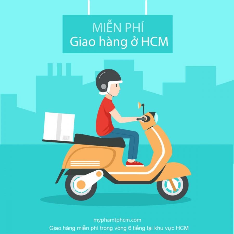 giao hàng miễn phí khu vực HCM