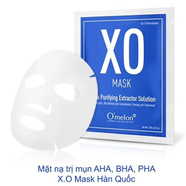 Mặt nạ trị mụn AHA, BHA, PHA - X.O Mask Hàn Quốc